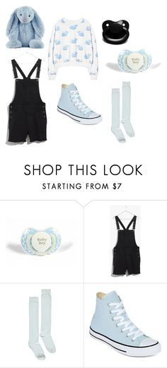 """""""Little Boy (dd/lb)"""" by littlebabyboy-t ❤ liked on Polyvore featuring Madewell, Boohoo, Converse and Jellycat"""