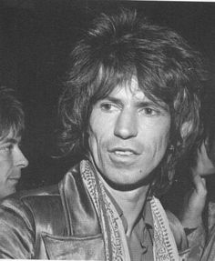 Keith Richards - before he turned into a Zombie!