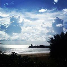 JP: Beach in Miri Sarawak Borneo