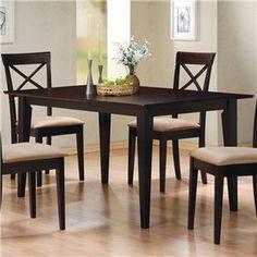 Mix+&+Match+Rectangle+Leg+Dining+Table