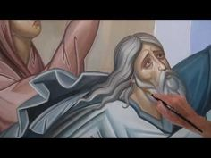 Как написать икону, How to paint an icon, Comment peindre l'icône, Dipingere l'icona - YouTube