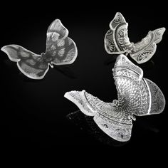 Glass Butterflies - international award winning use of recycled materials in design | Lightly <3