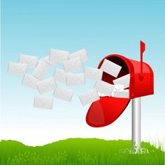 Advantages Direct Mail--it when it does have the right stamp and its mailing value