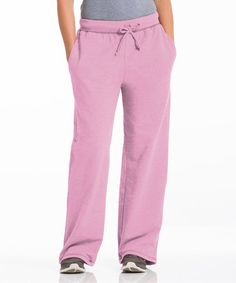 Take a look at this Cotton Candy Three-Pocket Fleece Lounge Pants by Repair the World® on #zulily today!