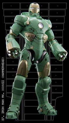 Iron Man mark XXXVII (Hammerhead)