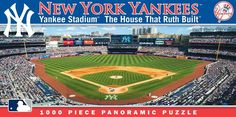New York Yankees Panoramic Stadium Puzzle