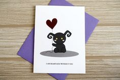 Kingdom Hearts Love Card