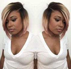 Love this bob via @hairbylatise - Black Hair Information Community
