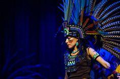 Trajes De Danzantes Aztecas | LUNA NEGRA, LA OTRA VISIÓN