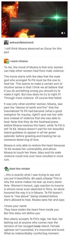 Moana and Male Violence - Wow. I never thought of it this way. Disney is amazing with metaphors tho so I shouldn't be surprised Disney Love, Disney Magic, Disney And Dreamworks, Disney Pixar, La Route D'eldorado, Secrets Disney, Just In Case, Just For You, Fandoms