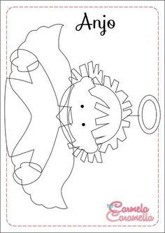 Resultado de imagen para presepio de feltro molde