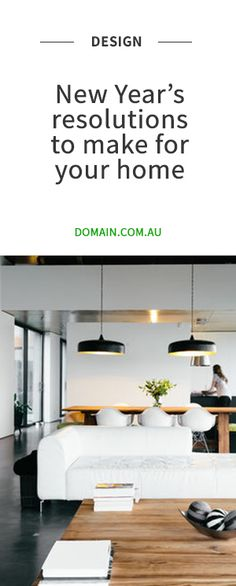 Since our homes have such an effect on how we feel, a New Year's resolution for your home should be on the list this year. Interior Garden, Interior S, Interior Design Living Room, Interior Design Inspiration, Room Inspiration, Industrial House, French Industrial, Cabin Design, House Design