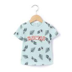 T-shirt imprimé feuille 1 mois-3 ans R mini