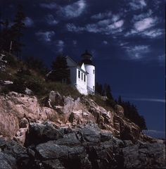 Light House Maine by Joseph Savoly, via 500px.