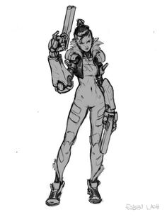 WifeBeater by EsbenLash ★ || CHARACTER DESIGN REFERENCES…