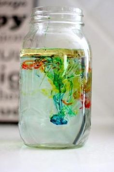 Science Experiment for Kids and Preschool Lesson Plan