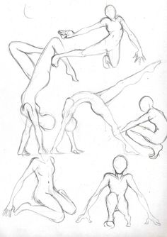 Poses 2 by Hel-su.deviantart.com on @deviantART