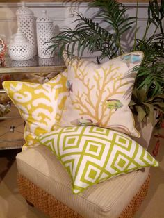 - Naples Collection - Coastal Pillows   Beach Pillows   Coastal Home Pillows