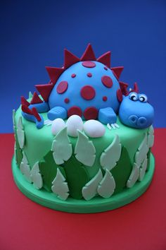 Dinosaur — Children's Birthday Cakes
