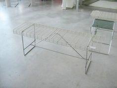 Sgabello e panchina di Bruno Munari