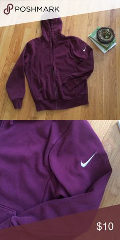 Nike Zip Up sweatshirt Men's medium (but would be cute for a girl to wear a little baggy) Nike Tops Sweatshirts & Hoodies