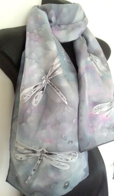 Your place to buy and sell all things handmade Silk Painting, Online Gifts, Silk Scarves, Valentine Gifts, Blush Pink, Hand Painted, Turquoise, Pure Products, Rose