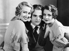Joan Blondell, James Cagney and Ruby Keeler by Vintage-Stars, via Flickr