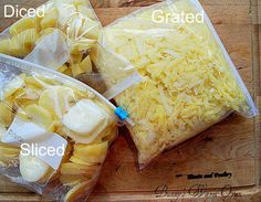Homemade Frozen Hashbrowns are so easy and economical to do! Save a little money at the grocery store by making something prepackaged homemade!