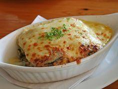 Lasagna de Berenjenas :http://www.recetasjudias.com/lasagna-de-berenjenas/