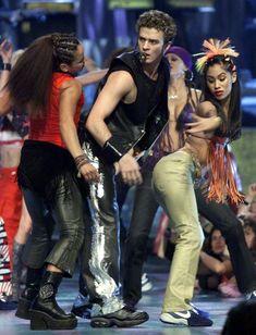 'NSYNC 2000 VMA performance, Justin Timberlake. 'NSYNC Video Music Award Style Journey - Tyranny of Style