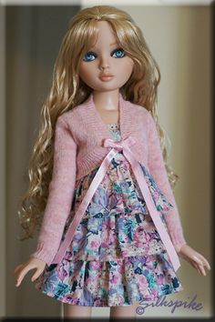 Ellowyne Wilde - Dress by Silkspike Dolls - I think this is a Tonner Tyler sweater - it fits her perfectly.