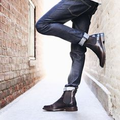 0e29337ffe A closet staple for the man about town; the Jones Chelsea | The Frye Company