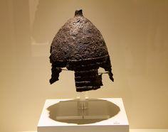 Ancient Hittite helmet