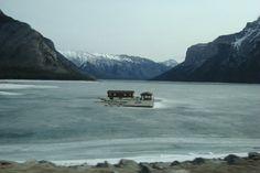 Frozen Minnewanka (Banff, AB)