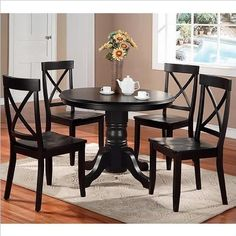 Pedestal Kitchen Table And Chairs - Foter