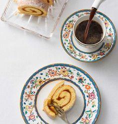 Biskuitroulade (Bild: EIsenhut & Mayer) Plates, Tableware, Austria, Licence Plates, Dishes, Dinnerware, Griddles, Tablewares