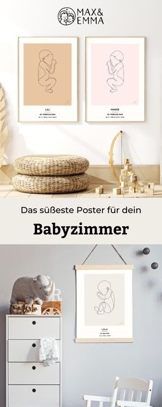 Your Beautiful Baby Poster Baby Room Furniture, Baby Room Decor, Nursery Decor, Baby Posters, Beautiful Babies, Beautiful Wall, Organisation Hacks, Birth Gift, Room Inspiration