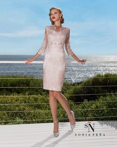 Complete Spring-Summer Collection Sonia Peña - Ref. Summer Mother Of The Bride Dresses, Mother Of Bride Outfits, Mother Of Groom Dresses, Mothers Dresses, Dress Brukat, Mom Dress, Bridesmaid Dresses, Wedding Dresses, Shift Dresses For Weddings