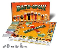 Amazon.com: Brew-Opoly Monopoly Game by Late For The Sky: Toys & Games