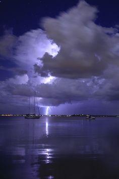 Storm @ Carey Bay, New South Wales, Australia • by redhotshotz