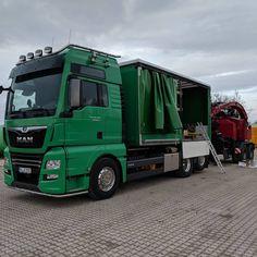 MAN Performance Line 640. #man #trucks #lkw #mantruck #power #greenenergy