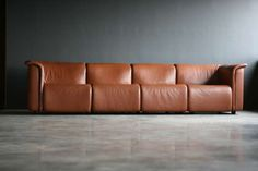 Large modular Sofa, hochbarett for Wittmann Moebelwerkstaetten Austria | From a unique collection of antique and modern sofas at https://www.1stdibs.com/furniture/seating/sofas/