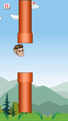 This is the new flappy bird lol ! Just like it so much fun :) #belieber