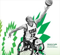 Jeremy Lade, U.S.A. ParaOlympian, Wheelchair Basketball