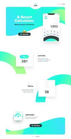 Arch Homepage Design