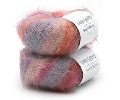 lana gatto silk - e-dziewiarka.pl Knitted Hats, Silk, Knitting, Tricot, Breien, Stricken, Weaving, Knits, Crocheting
