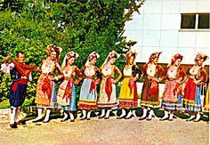 Women in Native Greek Dresses Greece