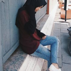 Hijab outfit of the day.  Instagran feeds.  You can check on my instagram : rgtch  Ootd,  teenagers