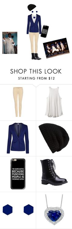 """""""Female Hercules Mulligan"""" by certified-fan ❤ liked on Polyvore featuring 7 For All Mankind, RVCA, Armani Collezioni, Rick Owens, Casetify and Wolf & Moon"""