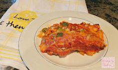 Carolyn in Carolina: How to re-purpose leftover chicken or turkey ~ Chicken or Turkey Enchiladas!